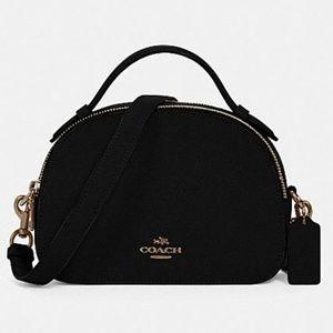 Nwt Coach Serena Black Satchel Bag